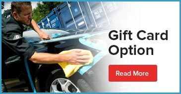 gift card car Car Detailing option